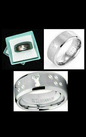 New Mens Titanium Ring for Sale in Eugene, OR