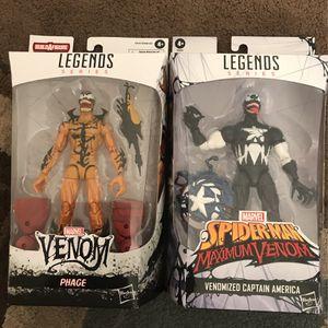 Marvel Legends Series Venom/Venomized Figures for Sale in Chula Vista, CA