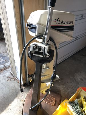 Jon boat motor 6hp for Sale in Chevy Chase, MD