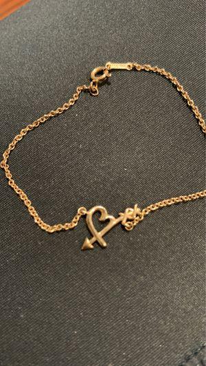 Tiffany Paloma Picasso Loving Heart Arrow Bracelet for Sale in Davenport, FL
