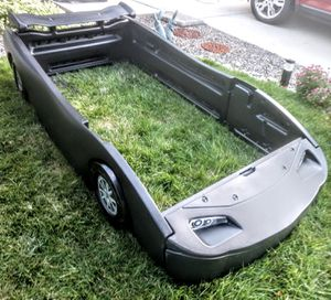 Sleek Black Race Car Twin Bed Frame for Sale in Arvada, CO