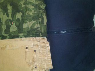 Boys Size 10-12 Jacket & 2 Pants/ Chamarra Y 2 Pantalones for Sale in Dallas,  TX
