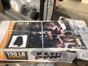 dumbbell set for Sale in Houston, TX
