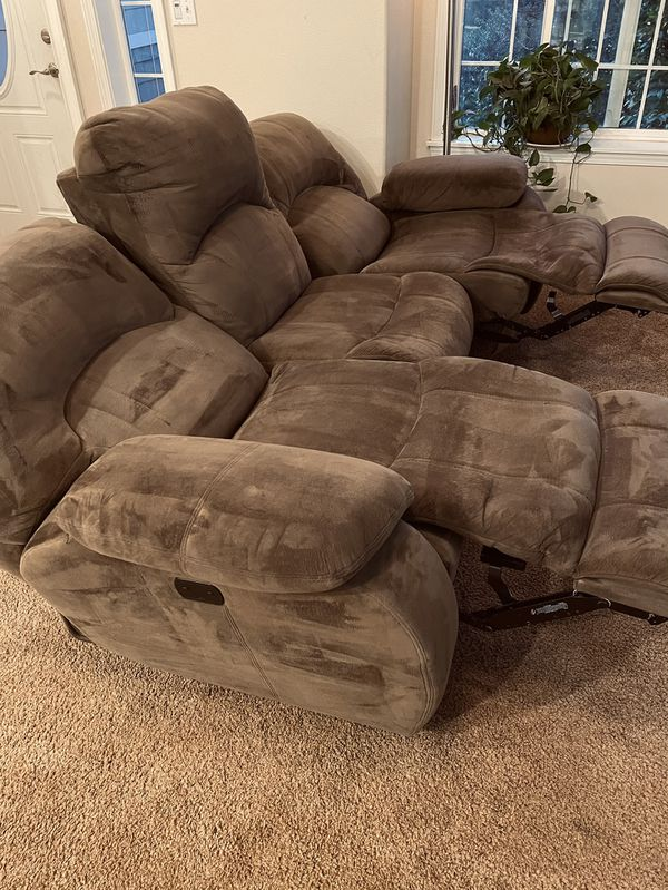 Sofa Couch Automatic Reclining USB Charging