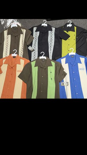 Steady clothing Men's extra small retro button up shirts for Sale in Santa Ana, CA