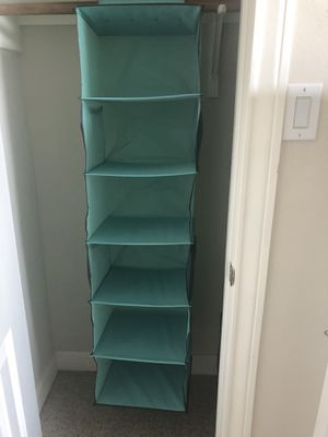 Teal Closet Organizer for Sale in Cypress, TX