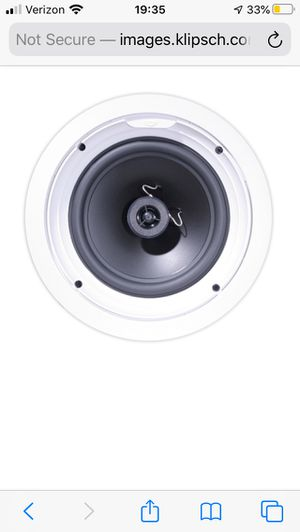 In ceiling speakers for Sale in Puyallup, WA