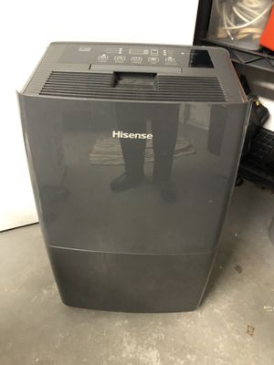 Hisense dehumidifier like new hardly used for Sale in Port Richey, FL