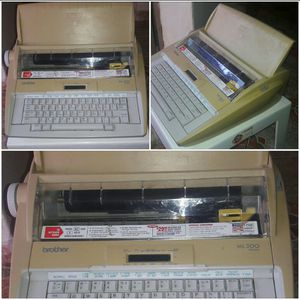 brother typewriter / ML 500 memory for Sale in US