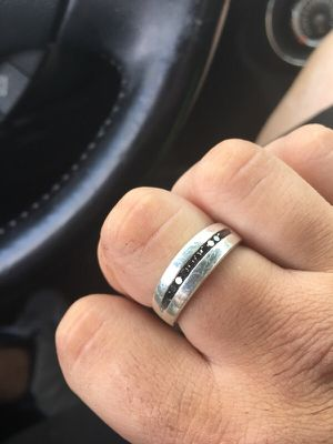 Men's ring/ engagement band for Sale in Tempe, AZ