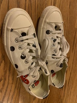 Converse Play Comme des Garçons Size 7.5 women or 5.5 men for Sale in MONTGOMRY VLG, MD
