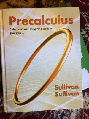 Nova precalculus textbook for Sale in Fairfax, VA