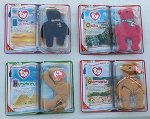 4) McDonald's Ty Beanie Babies 2000 bears SEALED for Sale in Las Vegas, NV