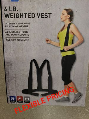Weighted Vest for Sale in North Miami Beach, FL