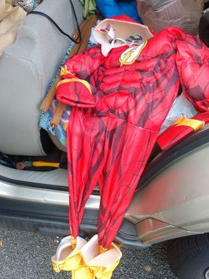 halloween costume boys small the flash 4 6 for Sale in Alexandria, VA