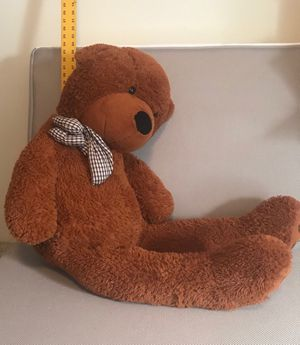 "Soft, plush stuffed bear, approx 25"" seated for Sale in Tacoma, WA"