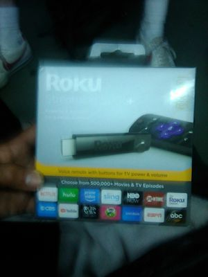 Roku Streaming Stick + for Sale in Seattle, WA