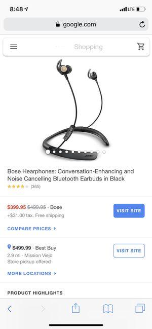 Brand new bose headphones for Sale in Laguna Hills, CA