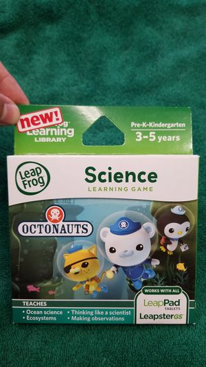 LeapFrog Learning Game: Science Octonauts for Sale in Las Vegas, NV
