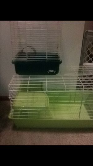 Guinea pig and bird/hamster cage for Sale in Pataskala, OH