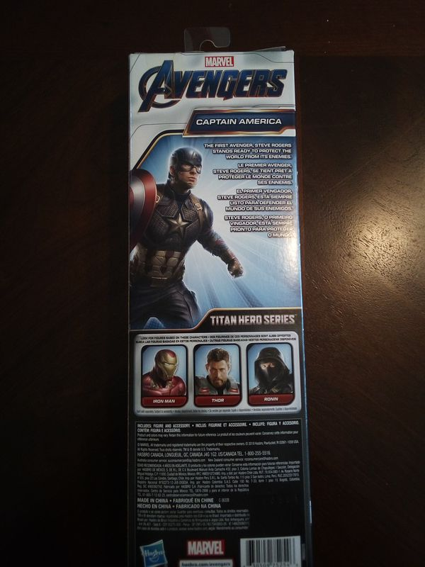 Marvel Avengers Titan Hero Series Captain America 12''