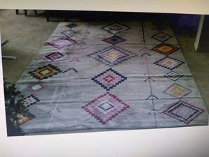 Grey rug for Sale in Port St. Lucie, FL