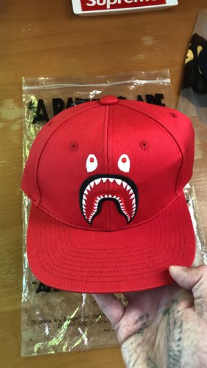 Red Bathing Ape PONR Snapback Hat for Sale in Pittsburgh, PA