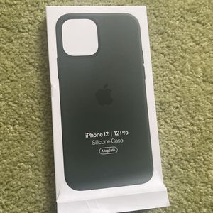 iPhone 12 Or 12 Pro Case Silicone Case Dark Forest Green for Sale in Mount Hamilton, CA