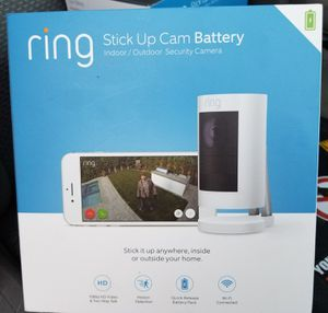 Ring stick up cam for Sale in Fontana, CA