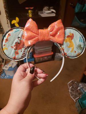 Handmade Lion King Disney Ears for Sale in Las Vegas, NV