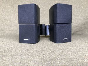 Bose~ Double Cube Omni-directional surround speakers pair (2x) W/wall mount brackets universal 8 ohms 100watts.. for Sale in San Diego, CA