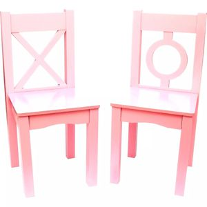CHILD'S CHAIRS, SET OF 2, LIGHT PINK for Sale in Pico Rivera, CA