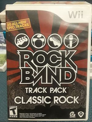 Rock Band: Classic Rock For Nintendo Wii U for Sale in Vancouver, WA