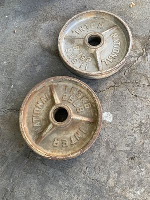 25 LBS weights for Sale in Ontario, CA