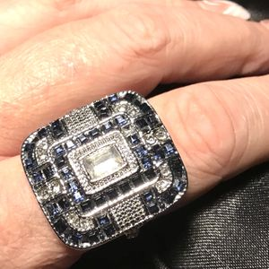 10 Big Blue Ring for Sale in North Charleston, SC