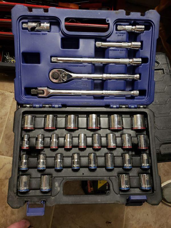 Kobalt socket set