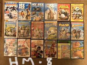 Children/Kids/Family Dvd Movies- choose any 5 movies for $10- Alvin, Shrek, Ice Age & More for Sale in Allentown, PA