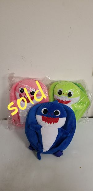 New baby shark backpack with music $11 each for Sale in Corona, CA