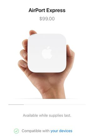 Apple WiFi router - Airport Express for Sale in Cleveland, OH