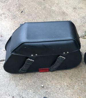 Universal mount saddle Bags $250 obo for Sale in Pearland, TX