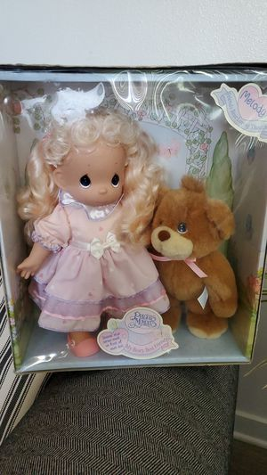 Precious Moments Vintage - My Beary Best Friend Keepsake Doll with Teddy Bear for Sale in Tustin, CA