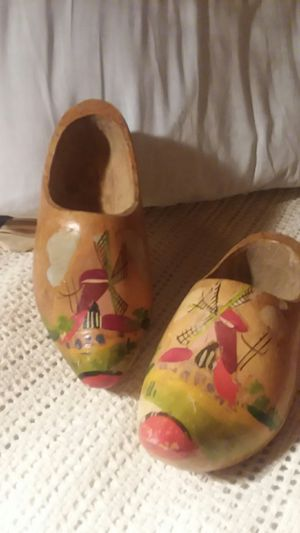 Handpainted wooden clogs from Holland for Sale in Rustburg, VA