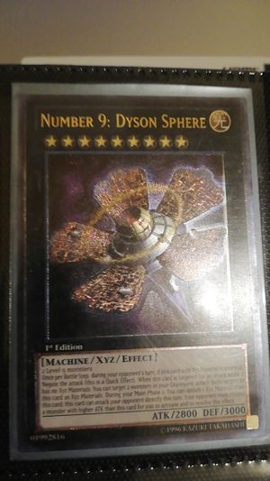 Number 9 Dyson Sphere - Ultimate rare 1st edition for Sale in Long Beach, CA