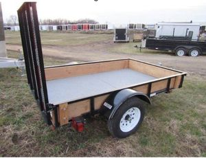 2017 AMERICAN CARRIER UTILITY TRAILER 5' X 8' G V W R 2000 LBS. - $1089 for Sale in Rutledge, PA