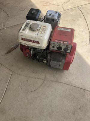 Generador honda on godcondition for Sale in Reedley, CA