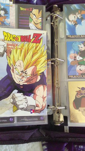 Collection of dragon ball z cards and VHS for Sale in Wake Forest, NC