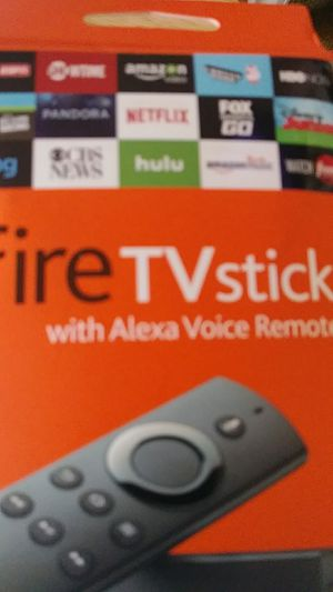 Fire TV stick, loaded for Sale in Apple Valley, CA