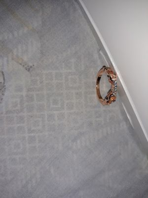 Rose Gold Plated Wedding Ring, Size 7. for Sale in Dallas, TX