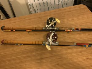 2 Deep Sea Rods and Reels for Sale in Seattle, WA