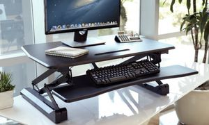 Airlift height adjustable standing desk converter for Sale in Bellevue, WA